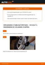 Stabilisator link veranderen VW GOLF: gratis pdf