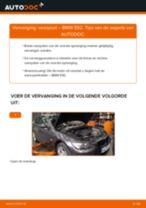 BMW Veerpoten achter en vóór veranderen doe het zelf - online handleiding pdf