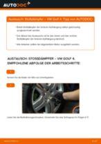 Stoßdämpfer hinten selber wechseln: VW Golf 4 - Austauschanleitung