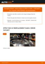 Changement Filtre à Huile VW GOLF V (1K1) : guide pdf