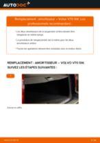 PDF manuel de remplacement: Amortisseur VOLVO V70 II (285) arrière + avant