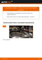 Hvorfor og hvordan skifte af Luftfilter VW GOLF V (1K1): vejledning pdf