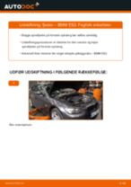 Udskift fjeder for - BMW E92   Brugeranvisning
