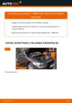 Udskift fjederben for - BMW E92   Brugeranvisning