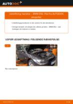 Udskift tændrør - BMW E92   Brugeranvisning