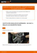 Reemplazar Muelles amortiguadores VW GOLF: pdf gratis