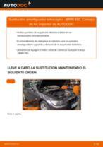Aprender cómo solucionar el problema con Amortiguadores delanteros BMW
