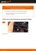 PDF manuale di sostituzione: Candele motore VW Golf IV Hatchback (1J1)
