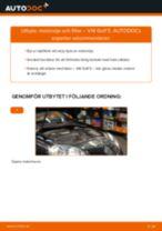 Byta motorolja och filter på VW Golf 5 – utbytesguide