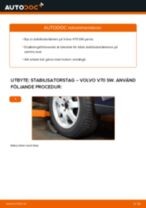 Byta stabilisatorstag fram på Volvo V70 SW – utbytesguide