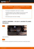 Montering Fjäderben VW GOLF IV (1J1) - steg-för-steg-guide