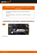 Slik bytter du luftfilter på en Volvo V70 SW – veiledning