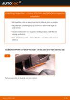 Montering Opphengskule VOLVO V70 II (SW) - steg-for-steg manualer