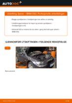 Slik bytter du fjærer fremme på en BMW E92 – veiledning
