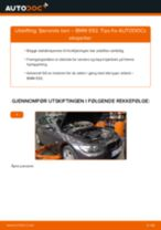 Slik bytter du fjærende ben fremme på en BMW E92 – veiledning