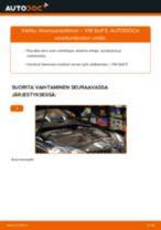 Kuinka vaihtaa ilmansuodattimen VW Golf 5-autoon – vaihto-ohje
