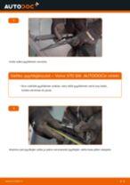 Kuinka vaihtaa pyyhkijänsulat taakse Volvo V70 SW-autoon – vaihto-ohje