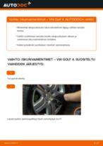 Opi korjaamaan VW Iskunvaimentimet ongelmat