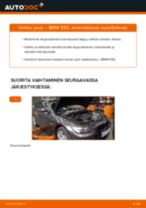 Kuinka vaihtaa jousi eteen BMW E92-autoon – vaihto-ohje