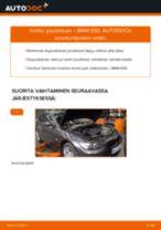 Kuinka vaihtaa joustintuki eteen BMW E92-autoon – vaihto-ohje