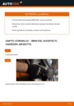 Kuinka vaihtaa koiranluu eteen BMW E92-autoon – vaihto-ohje