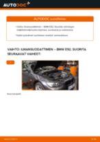 Kuinka vaihtaa ilmansuodattimen BMW E92-autoon – vaihto-ohje
