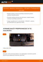 Jak wymienić i wyregulować 129 VW GOLF: poradnik pdf