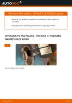 Jak wymienić filtr paliwa w VW Golf 4 - poradnik naprawy