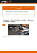Jak wymienić filtr powietrza w VW Golf 4 - poradnik naprawy