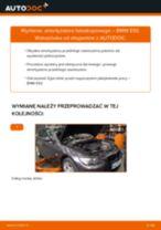 Jak wymienić i wyregulować Amortyzatory BMW 3 SERIES: poradnik pdf