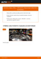 Ako vymeniť motorové oleje a filtre na VW Golf 5 – návod na výmenu