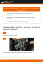 Naučte sa, ako vyriešiť problémy s zadné a predné Pruženie VW