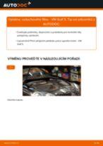 Jak vyměnit vzduchový filtr na VW Golf 5 – návod k výměně