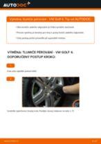 Jak vyměnit přední a zadní Tlumič VW udělej si sám - online návody pdf
