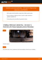 Jak vyměnit a regulovat Sada tlumičů VW GOLF: průvodce pdf