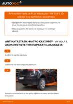 Online εγχειρίδιο για να αλλάξετε Κυλινδράκια τροχών σε Citroën C3 II