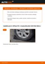 Kako zamenjati avtodel amortizer zadaj na avtu VW Golf 5 – vodnik menjave