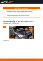 PDF priročnik za zamenjavo: Zracni filter BMW 3 Coupe (E92)