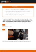 Tutorial passo a passo em PDF sobre a substituição de Tirante da Barra Estabilizadora no BMW 3 Coupe (E92)