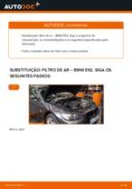 Recomendações do mecânico de automóveis sobre a substituição de BMW BMW E82 123d 2.0 Filtro de Ar