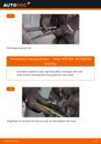 Millal vahetada Pesurikumm VOLVO V70 II (SW): käsiraamat pdf