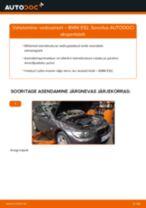 Asendamine Amort BMW 3 SERIES: käsiraamatute