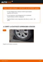 VW GOLF V (1K1) Lengéscsillapító szett beszerelése - lépésről-lépésre útmutató