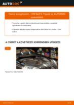 Levegőszűrő-csere VW Golf 5 gépkocsin – Útmutató