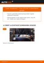 Levegőszűrő-csere Volvo V70 SW gépkocsin – Útmutató