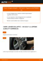 Autószerelői ajánlások - Golf 3 2.0 Lengéscsillapító cseréje