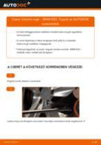 Hátsó futómű rugó-csere BMW E92 gépkocsin – Útmutató