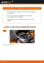 Elülső futómű rugó-csere BMW E92 gépkocsin – Útmutató