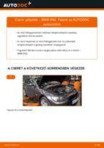 Elülső gólyaláb-csere BMW E92 gépkocsin – Útmutató