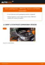 Gyújtógyertya-csere BMW E92 gépkocsin – Útmutató